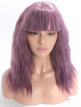 Sophia-Romantic Purple with Bangs