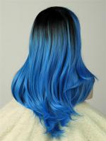 Ava- Steel Blue Ombre Color