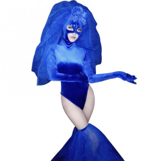 Custom Sequin Fringe DRAG QUEEN LONG SLEEVE Gown