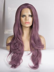 Raywigs Special - Hip Length Dusty Purple Wig