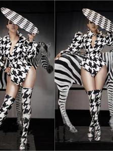 Houndstooth Rave Suit