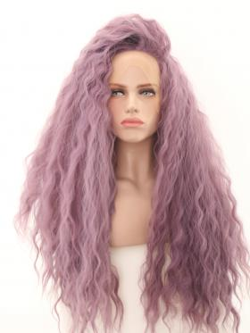 Romantic Purple Soft Big Puff Hair Wig - Style - Sofia