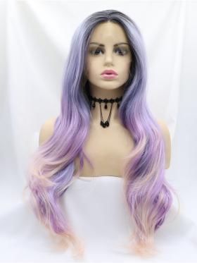 Kylie- Special Offer Mixed Color Drag Wig