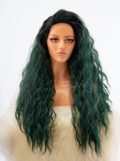 Army Green Soft Big Hair for Stage - Style - Sophia