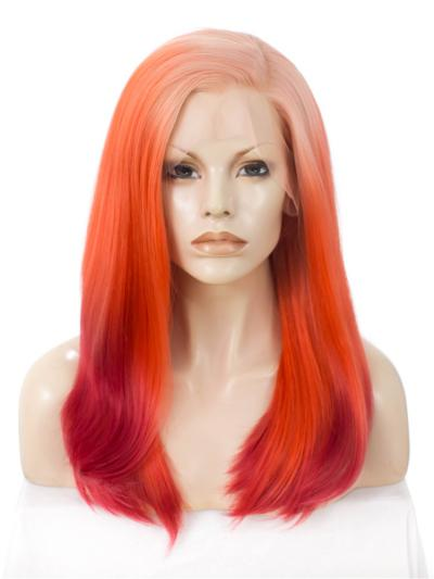 RayWigs Spreical Offer Fire Red Bust Length Drag Wig - Style - Monique
