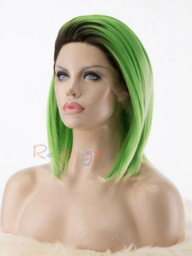 Raywigs Special Offer Green Ombre Short Drag Wig