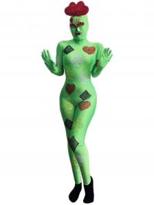 Green Cards Bodysuit