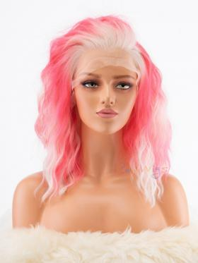 Raywigs Special Offer Flamingo Pink Synthetic Wig for Stage