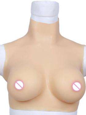 High Collar Silicone Breast Plate